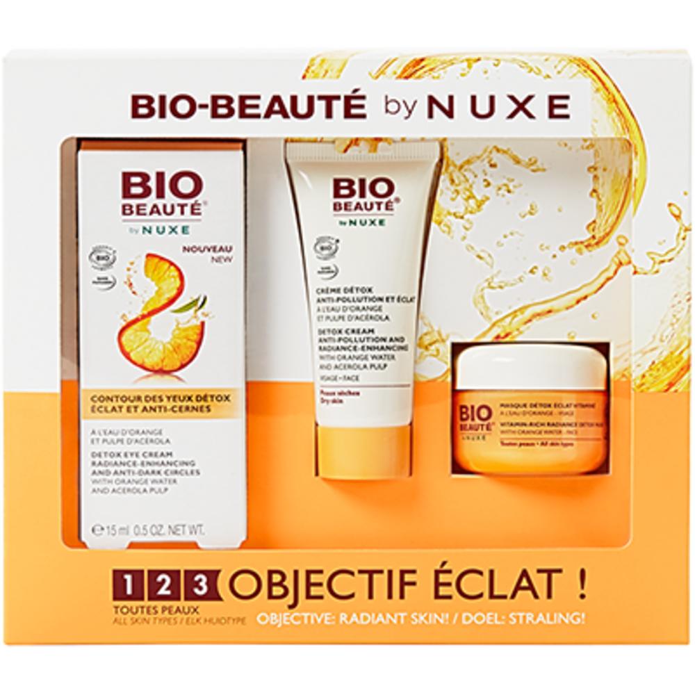 Bio beaute by nuxe coffret 123 objectif eclat Bio beaute by nuxe-223457