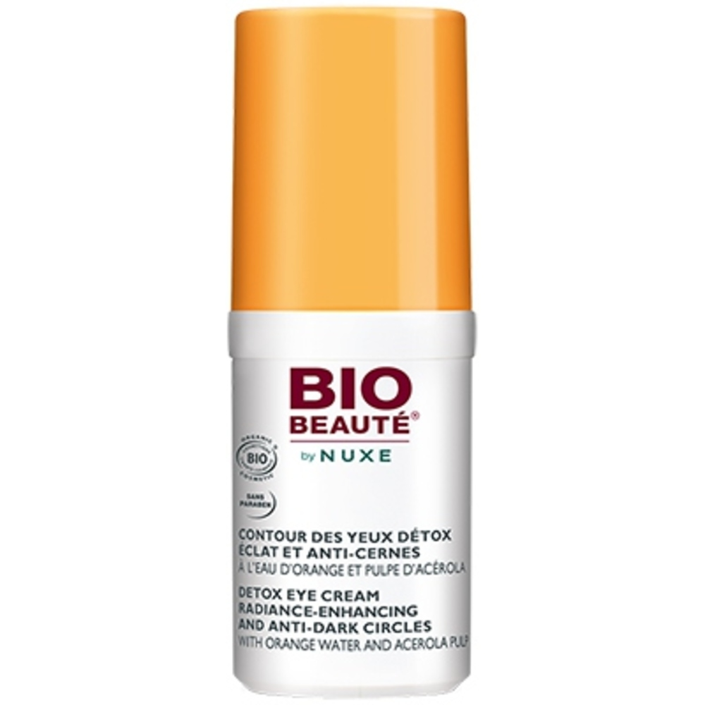 Bio beaute by nuxe contour des yeux détox éclat et anti-cernes - 15 ml - bio beaute by nuxe -205776