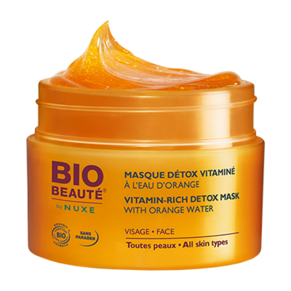 Bio beaute by nuxe masque détox vitaminé - divers - bio beaute by nuxe -199192