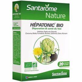 Bio bien-être du foie 20 ampoules x 10ml - santarome -216403