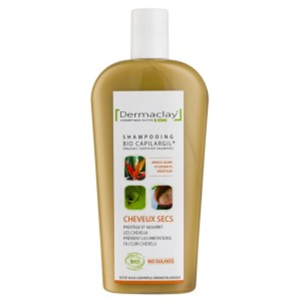 Bio capilargil jaune cheveux secs - 400.0 ml - bio capilargil familiaux - dermaclay -4993