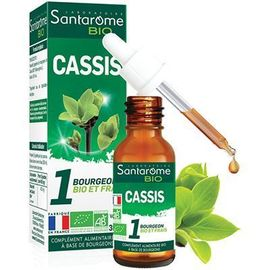 Bio cassis 30ml - santarome -222842