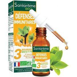 Bio défenses immunitaires 30ml - santarome -222844