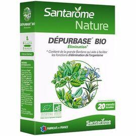 Bio détox bio 20 ampoules x 10ml - santarome -216404