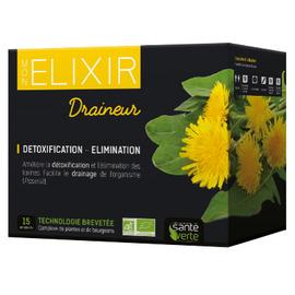 Bio elixir draineur - 15x10ml - sante verte -205317