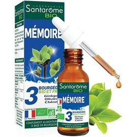 Bio mémoire 30ml - santarome -222848