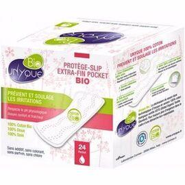 Bio protège-slip extra-fin pocket x24 - unyque -216202