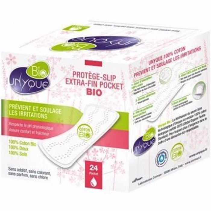Bio protège-slip extra-fin pocket x24 Unyque-216202