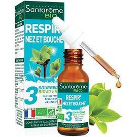 Bio respir' nez et bouche 30ml - santarome -222849