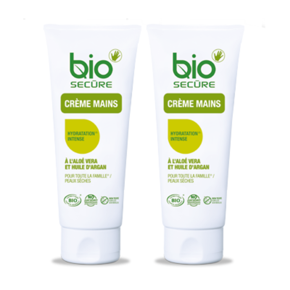 Bio secure crème mains lot de 2 x 50ml - bio secure -200936