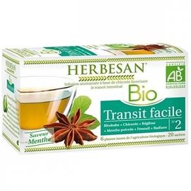 Bio transit facile - 20.0 unites - infusion bio - herbesan -132403