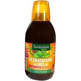 Bio ultradraine bio goût ananas 500ml - santarome -224439