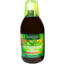 Bio ultradraine bio goût thé vert citron 500ml - santarome -224440