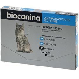 Biocanina fiprocat chat 3 pipettes - biocanina -215026