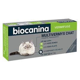 Biocanina multivermyx vermifuge chat - 2 comprimés - biocanina -206039