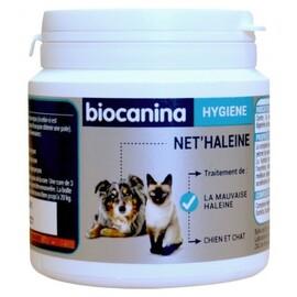 Biocanina net'haleine pour chats et chiens - poudre 85g - biocanina -211052