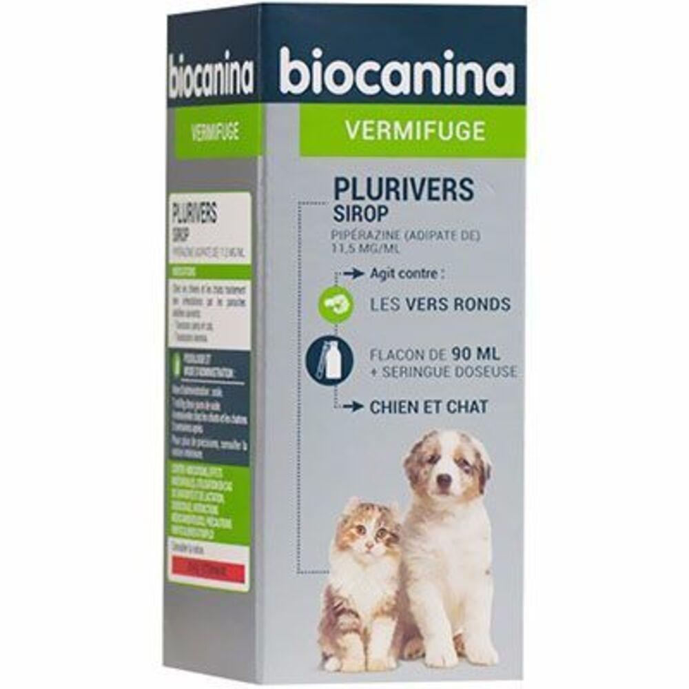 Biocanina plurivers sirop 90ml - biocanina -215470