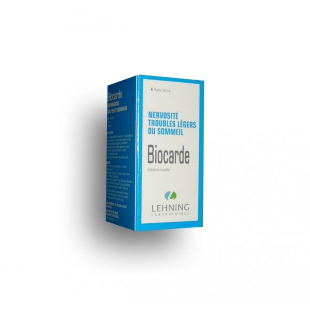 Biocarde gouttes - 30.0 ml - laboratoire lehning -194338