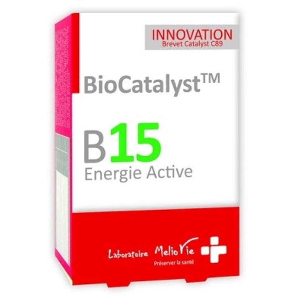 prix de biocatalyst b15 energie active compl ment alimentaire 30 g lules. Black Bedroom Furniture Sets. Home Design Ideas