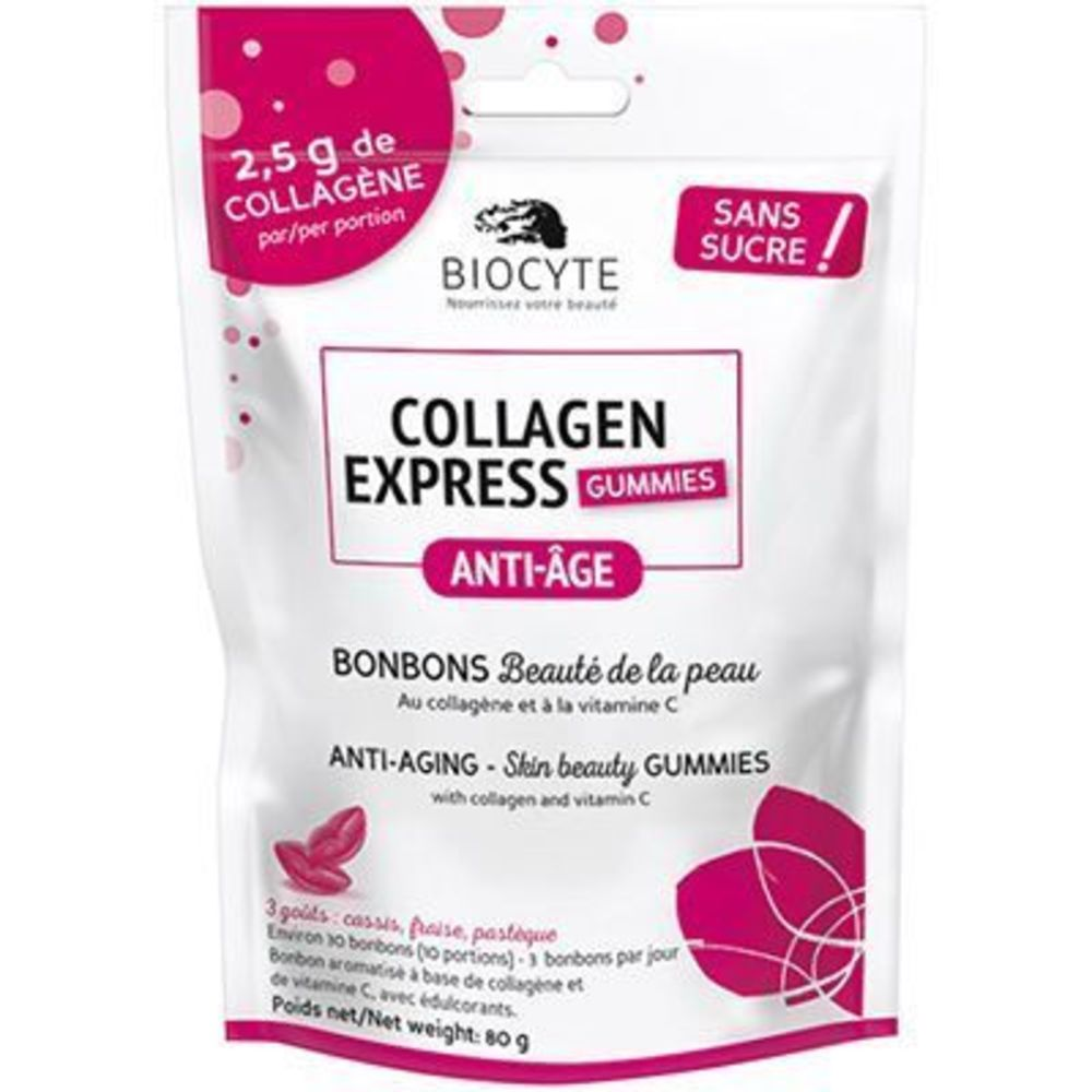 Biocyte collagen express gummies 80g - biocyte -222833