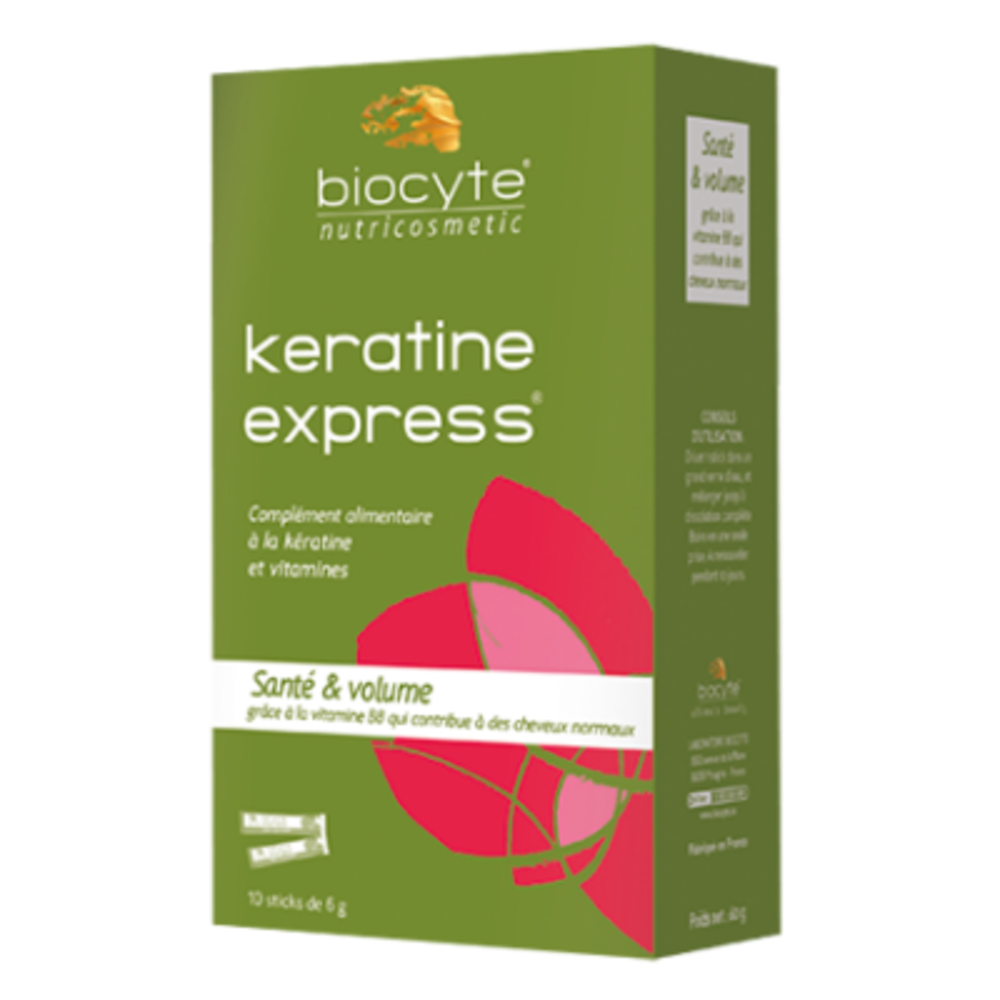 Biocyte keratine express - 10 sticks - 10.0 unites - cheveux - biocyte Anti chute express-133911