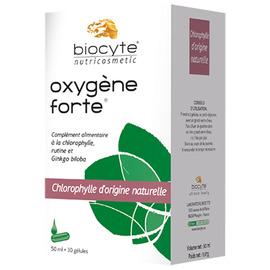 Biocyte oxygène forte regard 30 gélules + flacon 50ml - divers - biocyte -141766