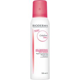 Bioderma créaline déodorant aérosol - 150.0 ml - créaline peaux sensibles - bioderma Efficacité 24h, sans alcool-7205