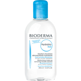 Bioderma hydrabio h2o - 250ml - 250.0 ml - hydrabio peaux sensibles et déshydratée - bioderma Nettoyant démaquillant doux hyratant-4103