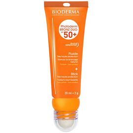 Bioderma photoderm bronz duo spf50+ fluide 20ml + stick 2g - bioderma -219190