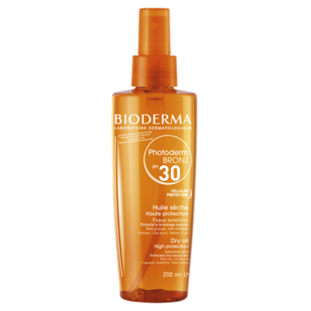 Bioderma photoderm bronz spf30 huile sèche - 200.0 ml - bioderma -143966
