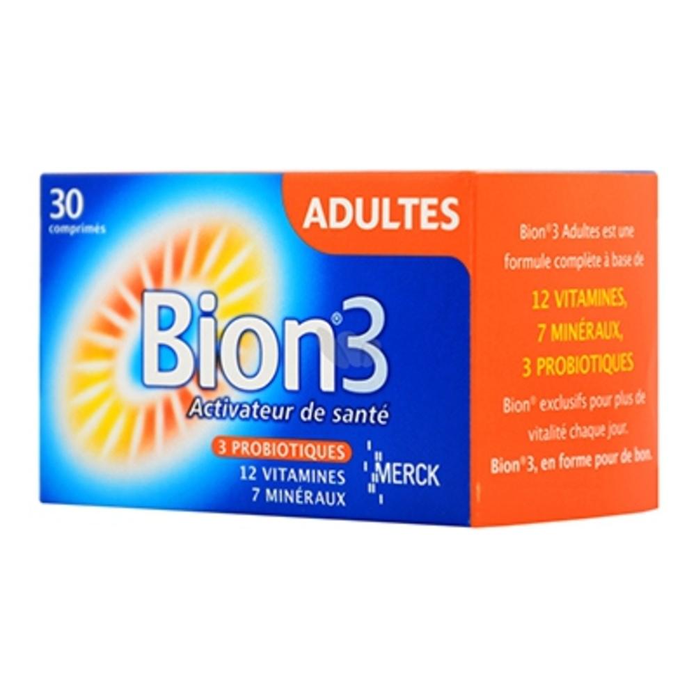 Bion 3 adultes - 30 comprimés - merck -147780