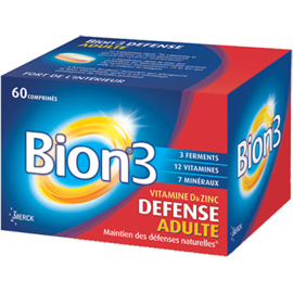 Bion 3 défense 60 comprimés - merck -194416