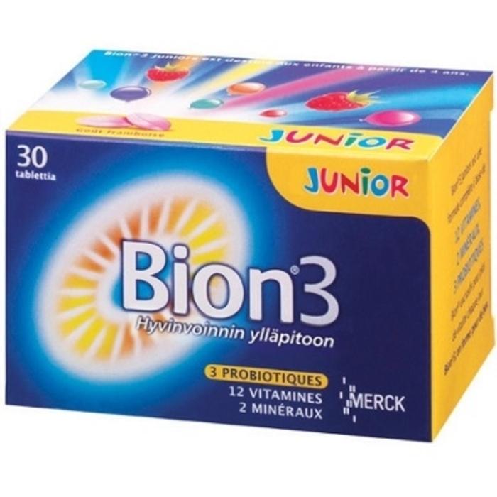 Bion 3 défense junior 30 comprimés Merck-147838