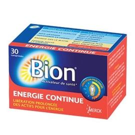 Bion 3 energie continue 30 comprimés - bion -148162