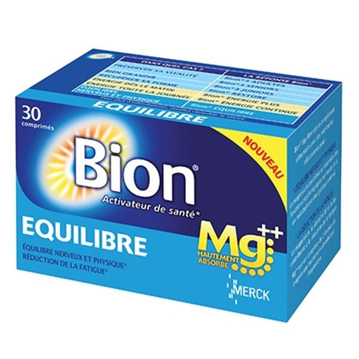 Bion 3 equilibre magnésium 30 comprimés Merck-148408