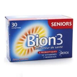 Bion 3 seniors 30 comprimés - merck -147781