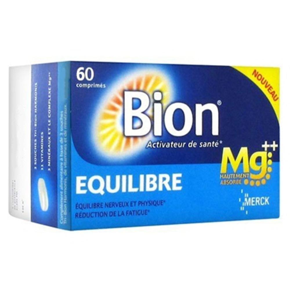 Bion equilibre magnésium - 60 comprimés - merck -205128