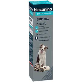 Biophtal nettoyant yeux - 125ml - biocanina -206030