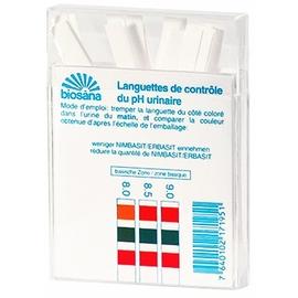 Biosana languettes de contrôle du ph urinaire x25 - 25.0 unites - bien-être - phytoceutic Languettes de contrôle du pH urinaire-5867