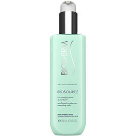 Biosource lait démaquillant purifiant - 200ml - biosource - biotherm -205541