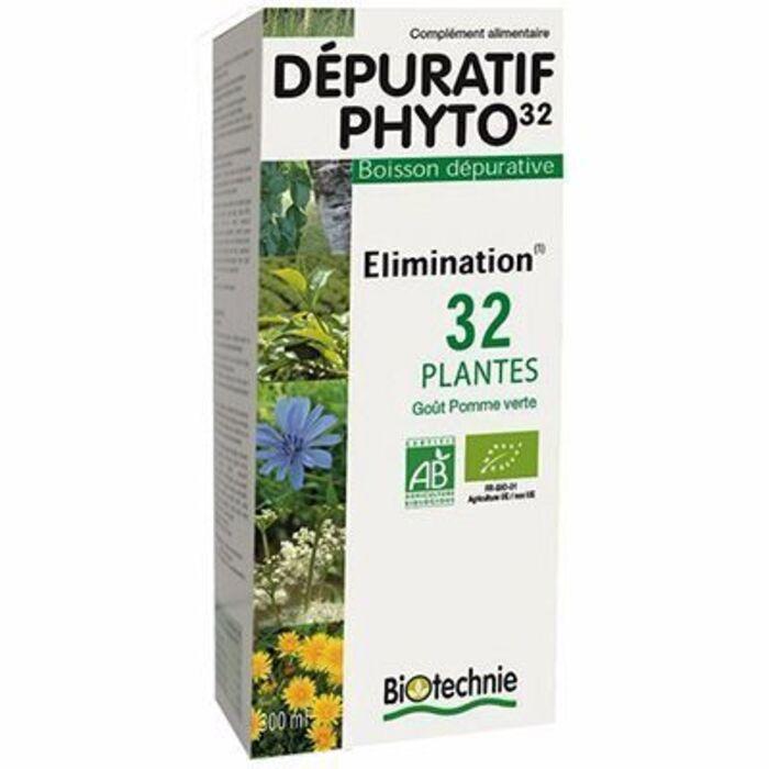Biotechnie dépuratif phyto 32 bio 300ml Biotechnie-123075