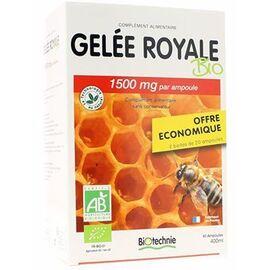 Biotechnie gelée royale bio 40 ampoules - biotechnie -222961