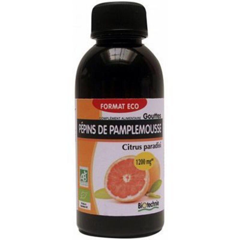 Biotechnie gouttes pépins de pamplemousse 90ml - biotechnie -222960