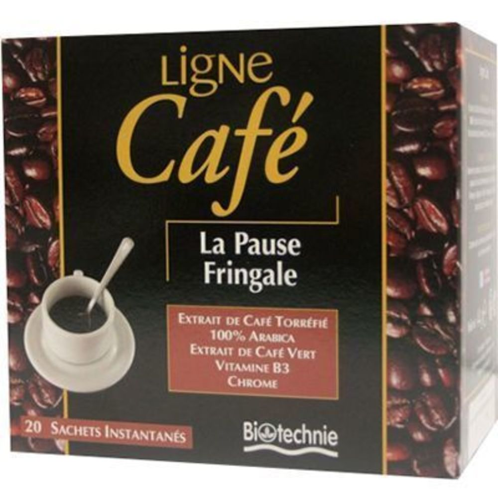 Biotechnie ligne café 20 sachets instantanés - 20.0  - minceur - biotechnie La pause fringale-4740