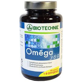 Biotechnie oméga 3.6.9 - 80 capsules + 8 offertes - biotechnie -225796