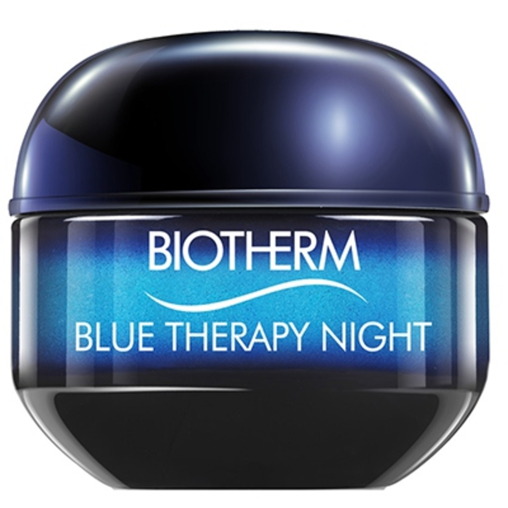 Biotherm blue therapy crème nuit - 50ml - blue therapy - biotherm -205478