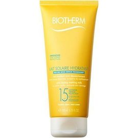 Biotherm lait solaire hydratant spf15 200ml - lait solaire - biotherm -213698
