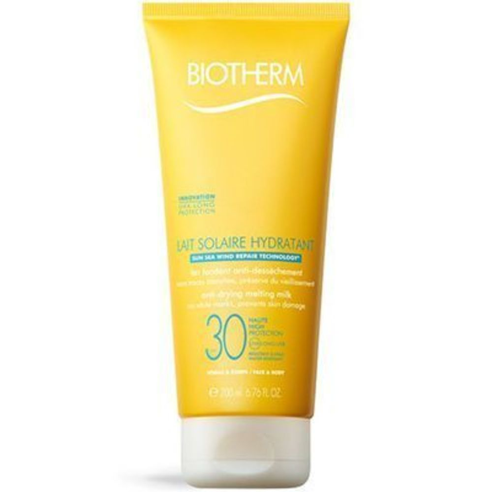 BIOTHERM Lait Solaire Hydratant SPF30 200ml - lait solaire - Biotherm -213699