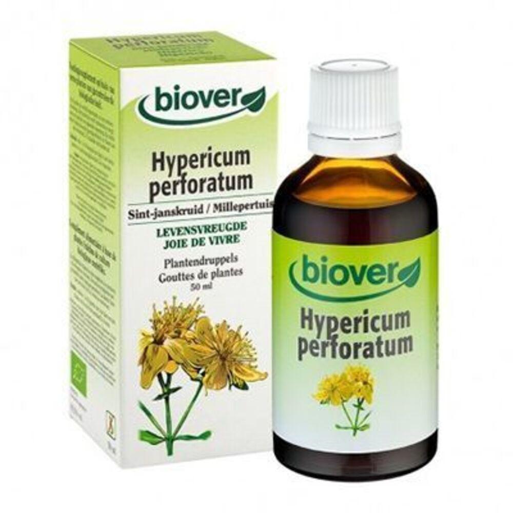 Biover gouttes de plantes millepertuis joie de vivre 50ml - 50.0 ml - gouttes de plantes - teintures mères - biover Joie de vivre-8981