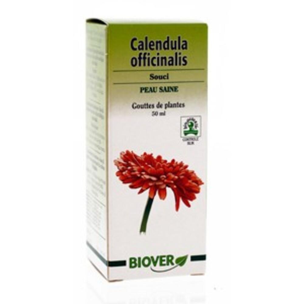 Biover gouttes de plantes souci peau saine 50ml - 50.0 ml - gouttes de plantes - teintures mères - biover Pour une peau saine-8954